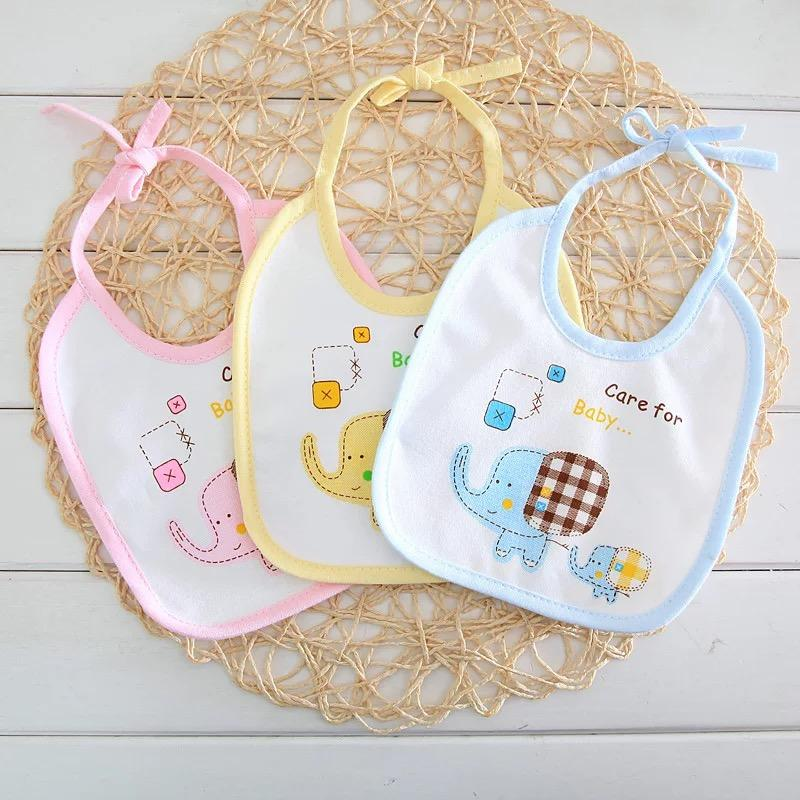 Cici Baby Corp Infant Bibs 2 Sided Cotton Bibdana Assorted Design Bib(randomly Given) By Cici Shop.