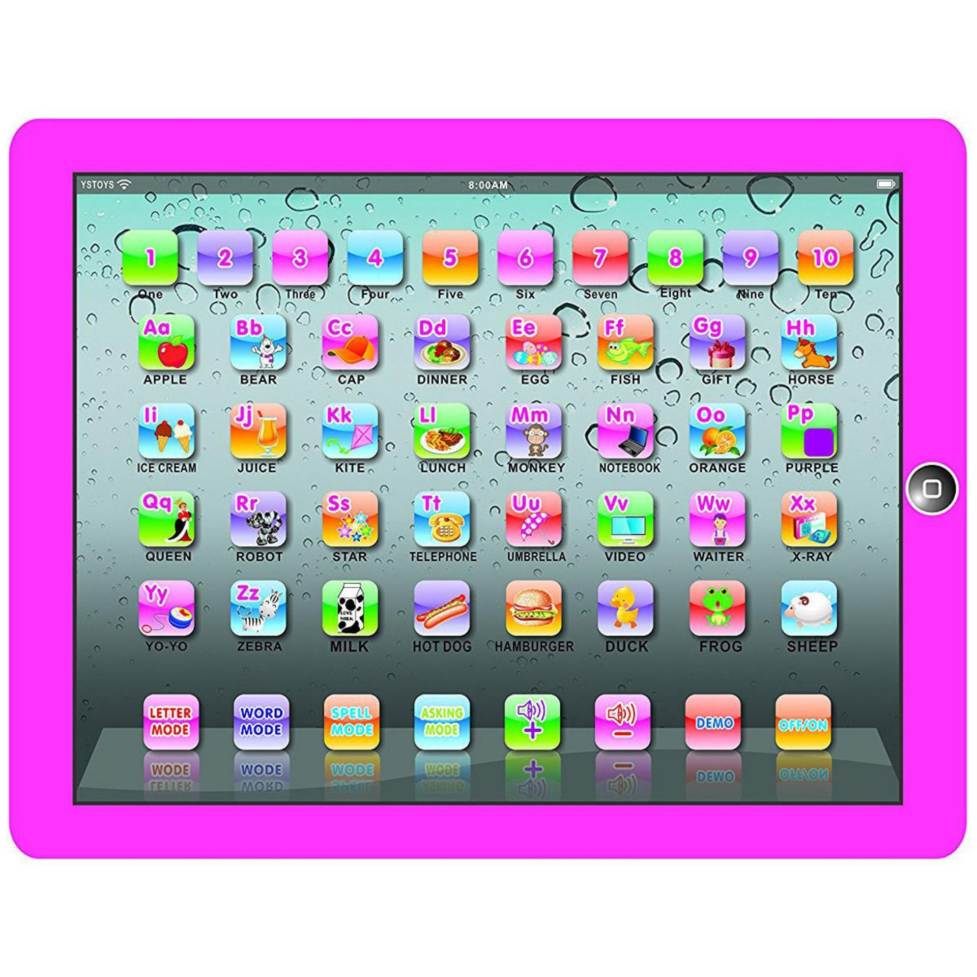 Ypad Multimedia Learning Computer Toy Tool (pink) By Mp-Keimav.