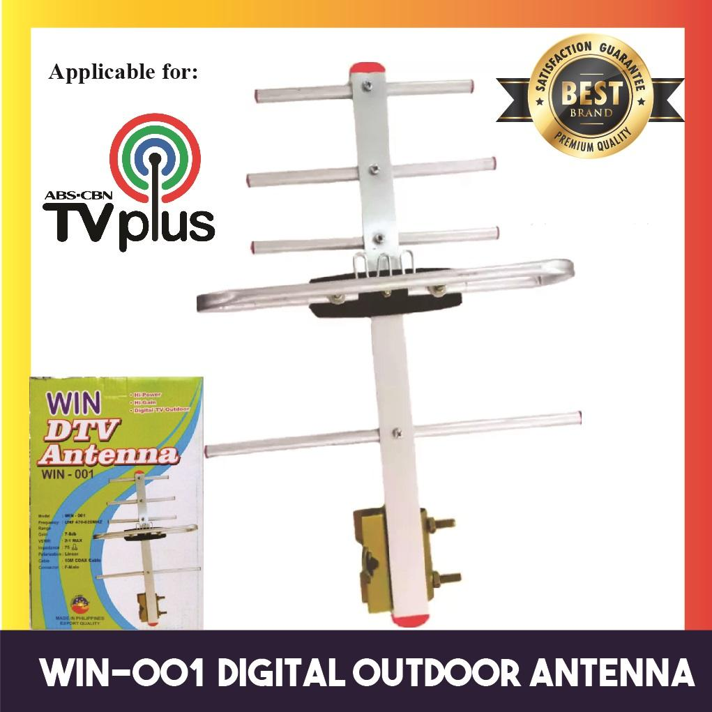 Win Outdoor Dtv Antenna For Tv Plus By Winland Online Depot.