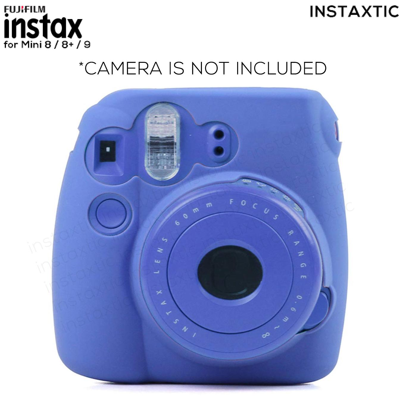 0623a931e13862 Instaxtic Silicone soft shell case for Fujifilm Instax Mini 8   8+   9