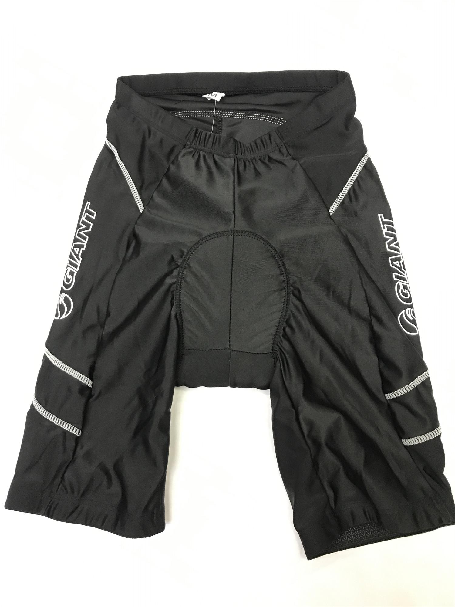Bike Cycling Shorts W/ Sponge Paded Soft Brief Reflect Outdoors Sports  Biking Shorts