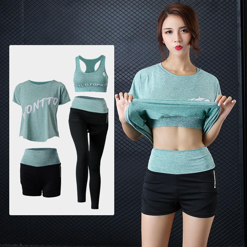 Women Gym Women Running Professional Yoga Workout Clothes (gray) By Taobao Collection.