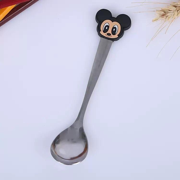 Cute Cartoon Stainless Steel Spoon Character Cup Spoon By Hello Mr Shao.