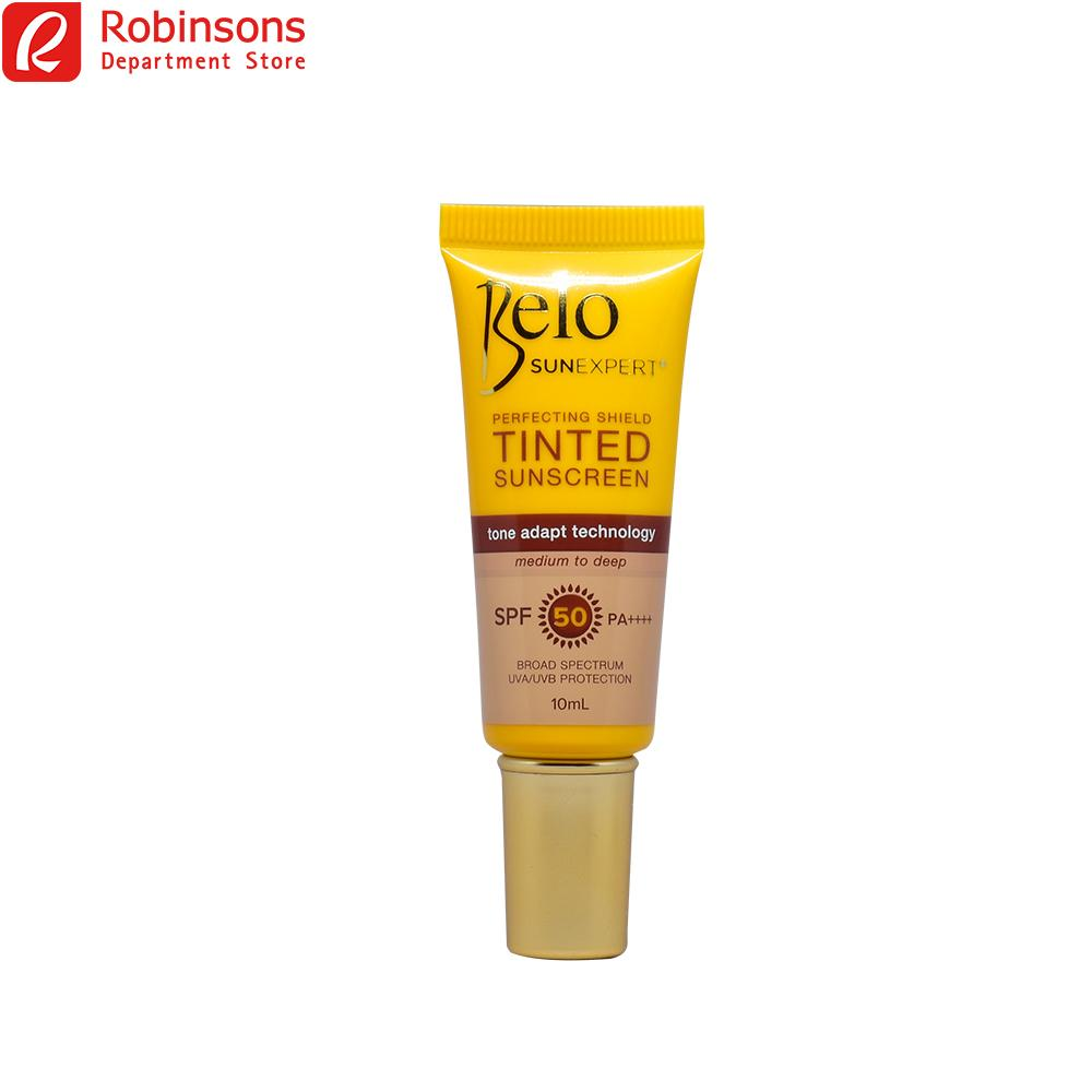 Belo Sun Expert Perfecting Shield Tinted Sunscreen Spf 50 10ml By Robinsons Department Store.
