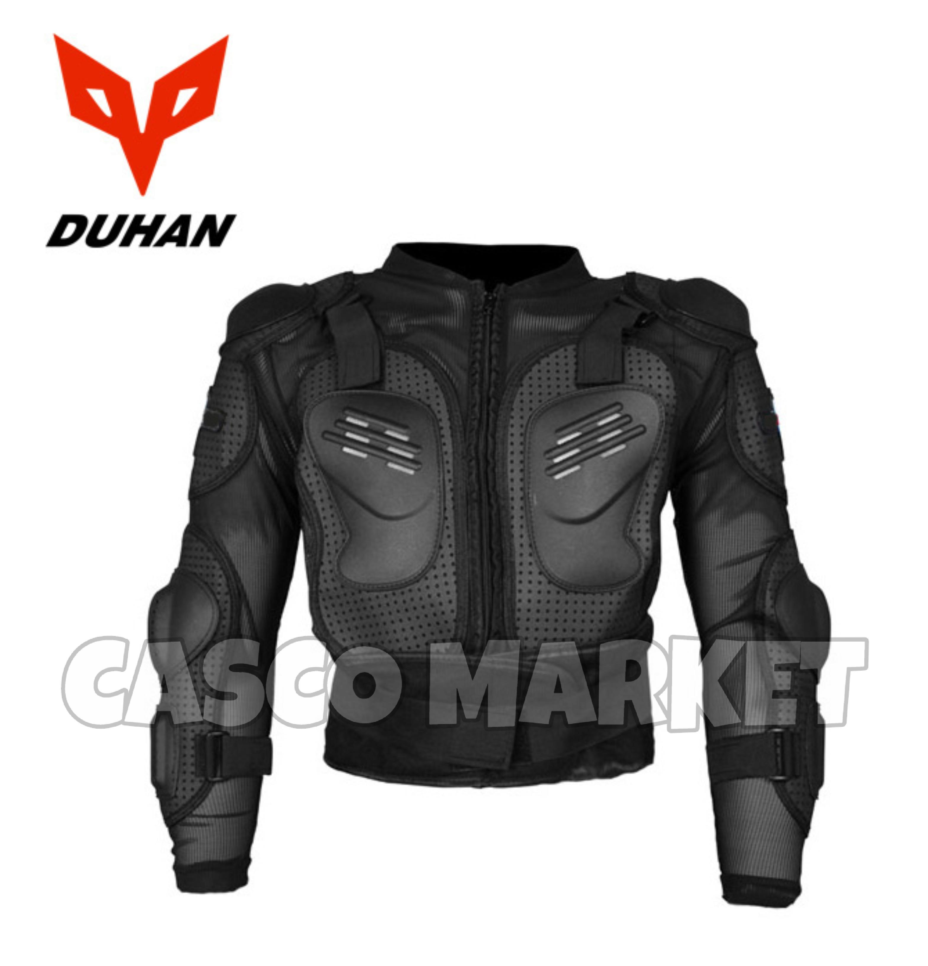 11c4c53d2 DUHAN Moto Fox Armor Motorcross Mx off road gear one size adjustable Full  Body Armor Jacket motocross protective Gear