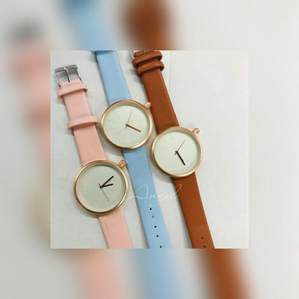 Contemplative Retro Women Men Casual Roman Numeral Dial Denim Fabric Analog Quartz Wrist Watch Watches