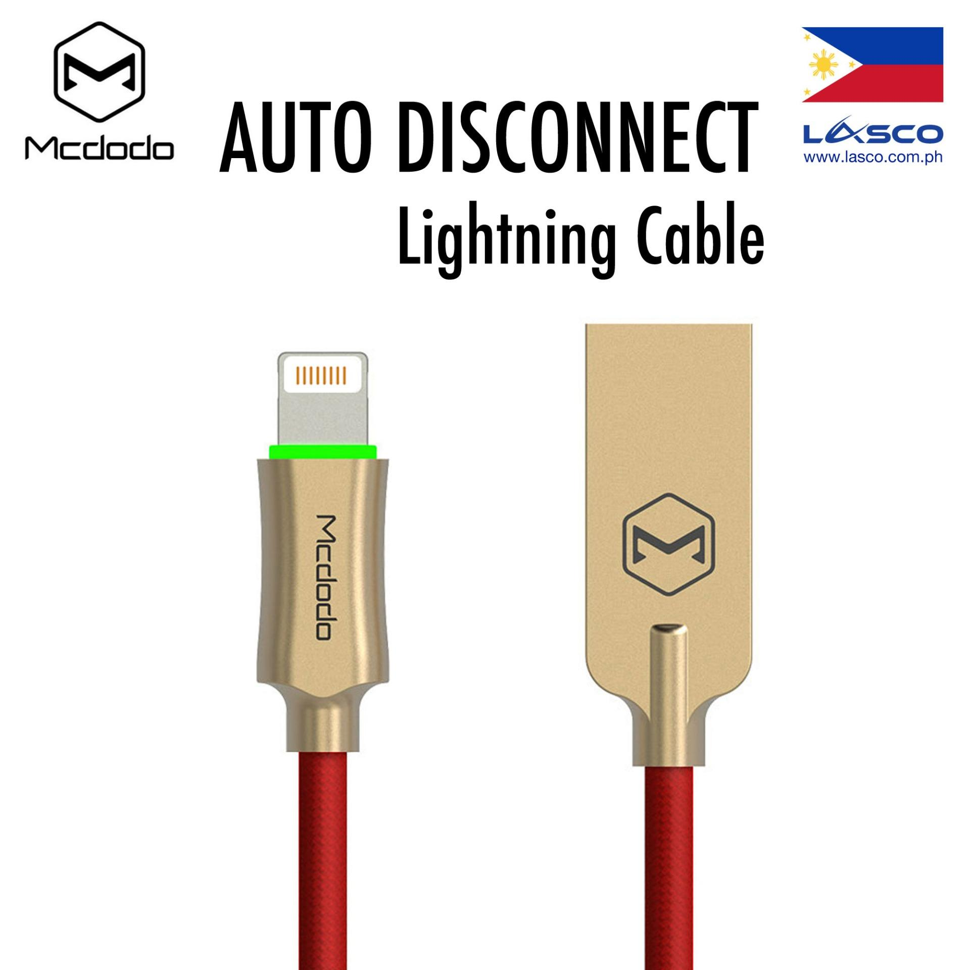 Mcdodo Philippines 1.8 meters High Quality Lightning Data Cable for any iPhone model X XS Max