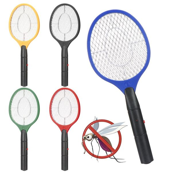 YESMILE Outdoor Anti Mosquito Mosquito Wasp Pest Control Electric Fly Insect Racket Swatter Bug Electronic Mosquito Racket Zapper Killer