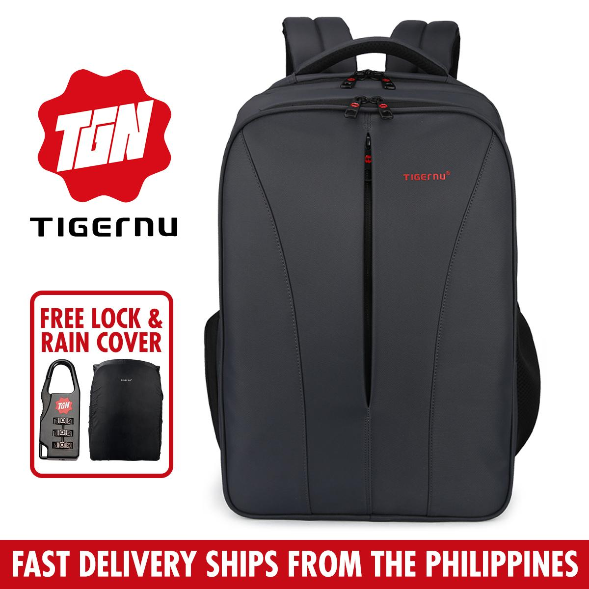 Tigernu T-B3220 Anti-Theft Water Resistant Mens Business Travel Laptop Bag Backpack For 10.1 To 15.6 Laptop By Tigernu Ph.