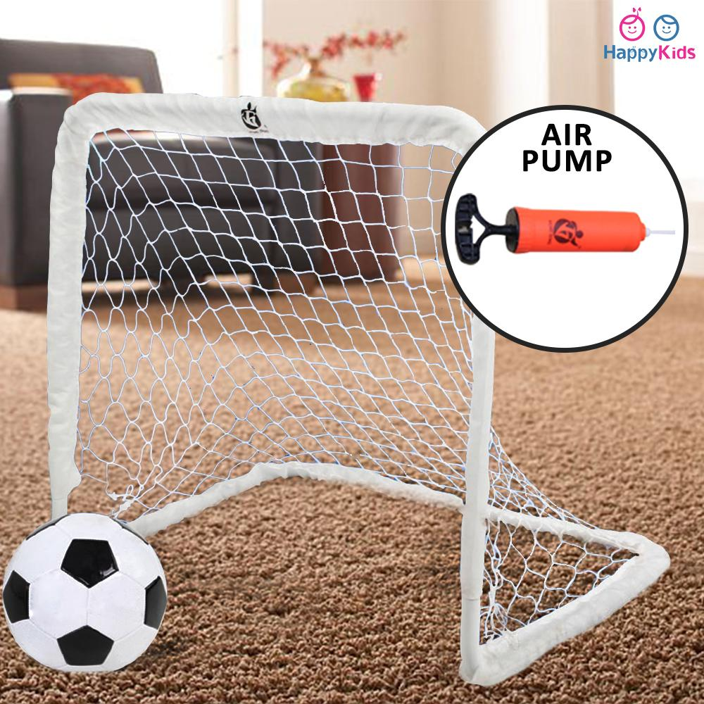 02504194a Mini Portable Folding Football, Soccer Goal Set, indoor and outdoor for kids  and family