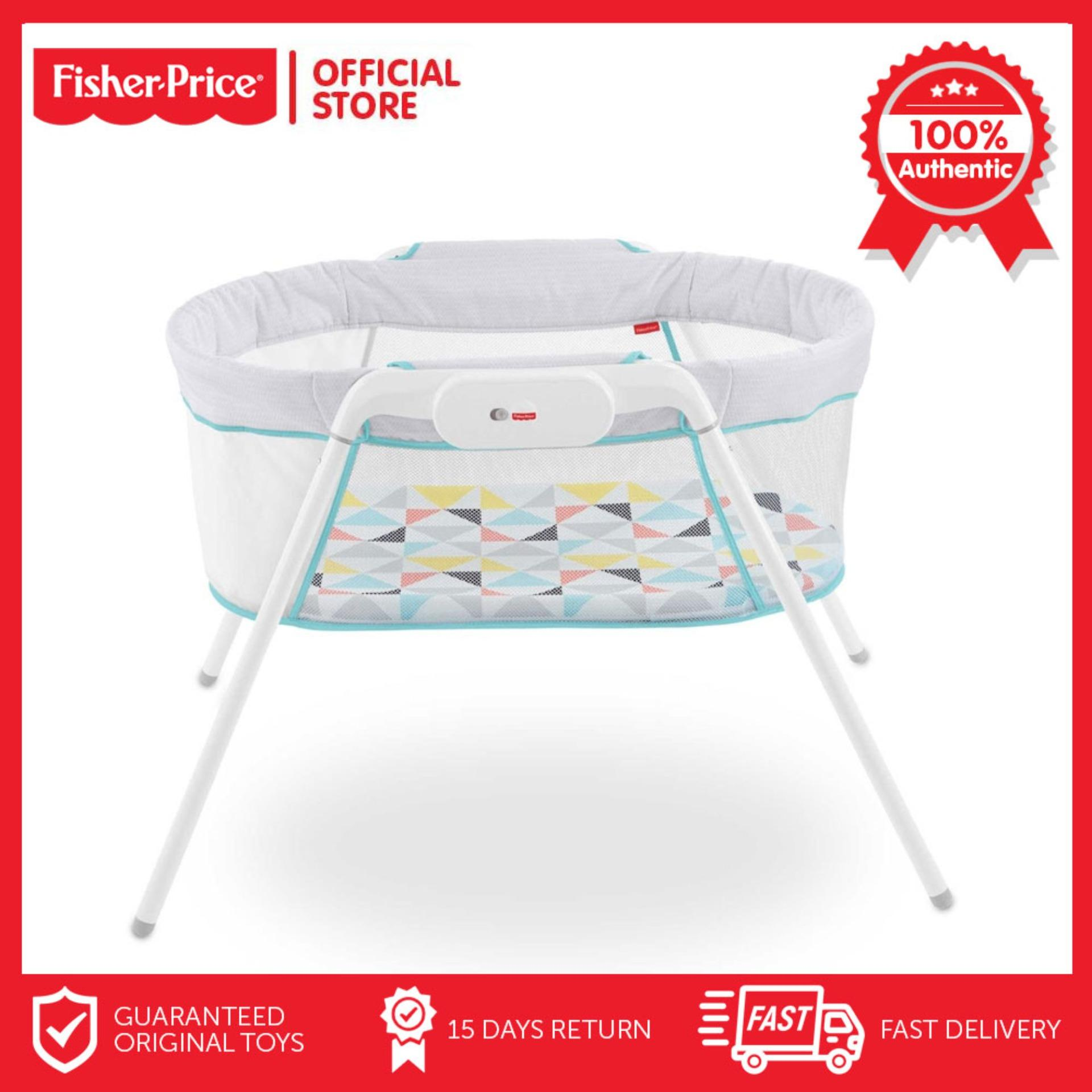 Fisher Price Stow N Go Bassinet Cosleeper Crib By Fisher-Price Official Store.