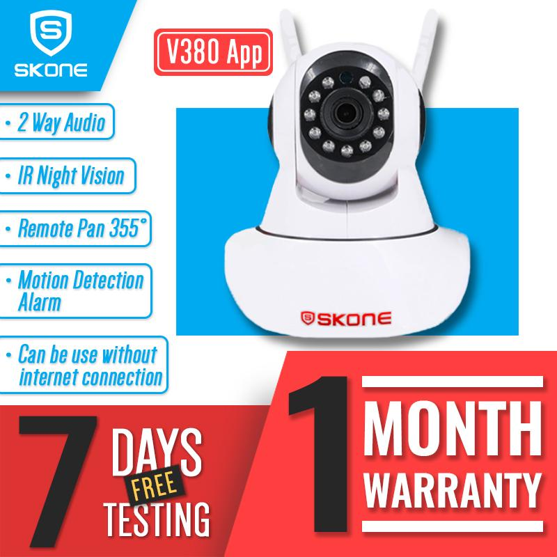 Objective Smart Vr Wide Angel Hd Wifi Camera With 940nm Infrared Night Vision & 2 Way Intercom Motion Detection Free App Remote Monitoring Camcorders