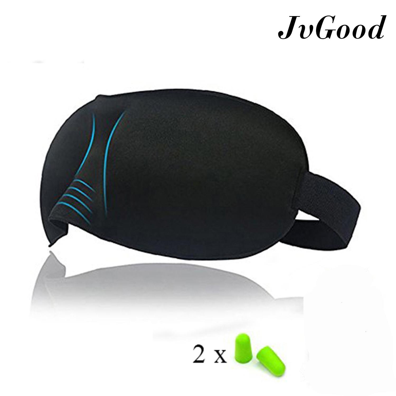 adbc1defb15 JvGood 3D Sleep Mask Lightweight and Comfortable Sleeping Eyes Shield Mask  Shade Cover for Travel Nap