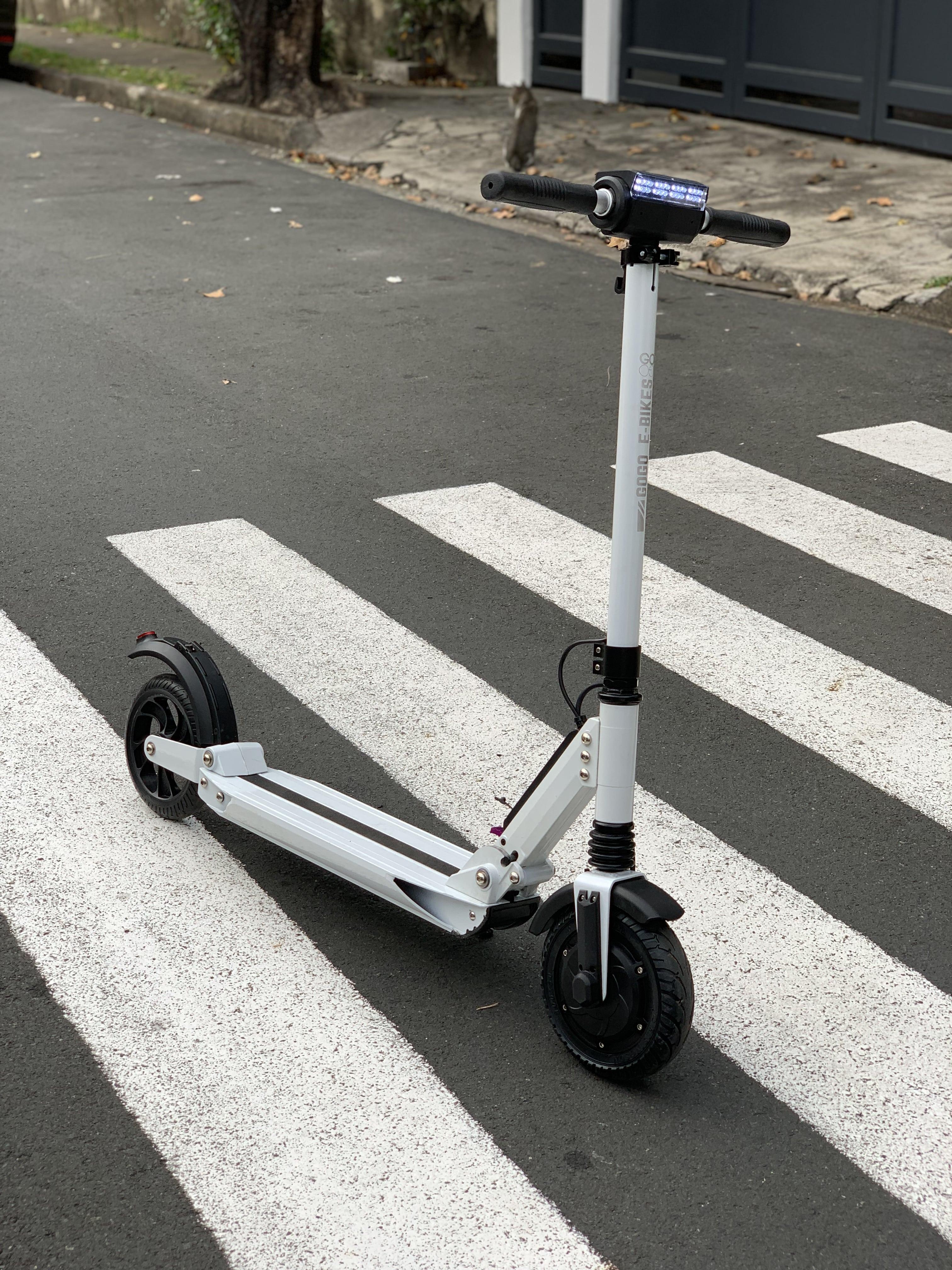 GOGO Roam 2 0 Electric Scooter 7 8Ah (White)