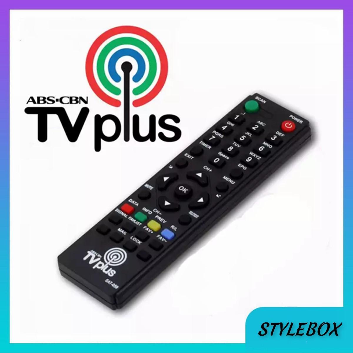 ABS CBN SAT-059 TV Plus Digibox Remote Control