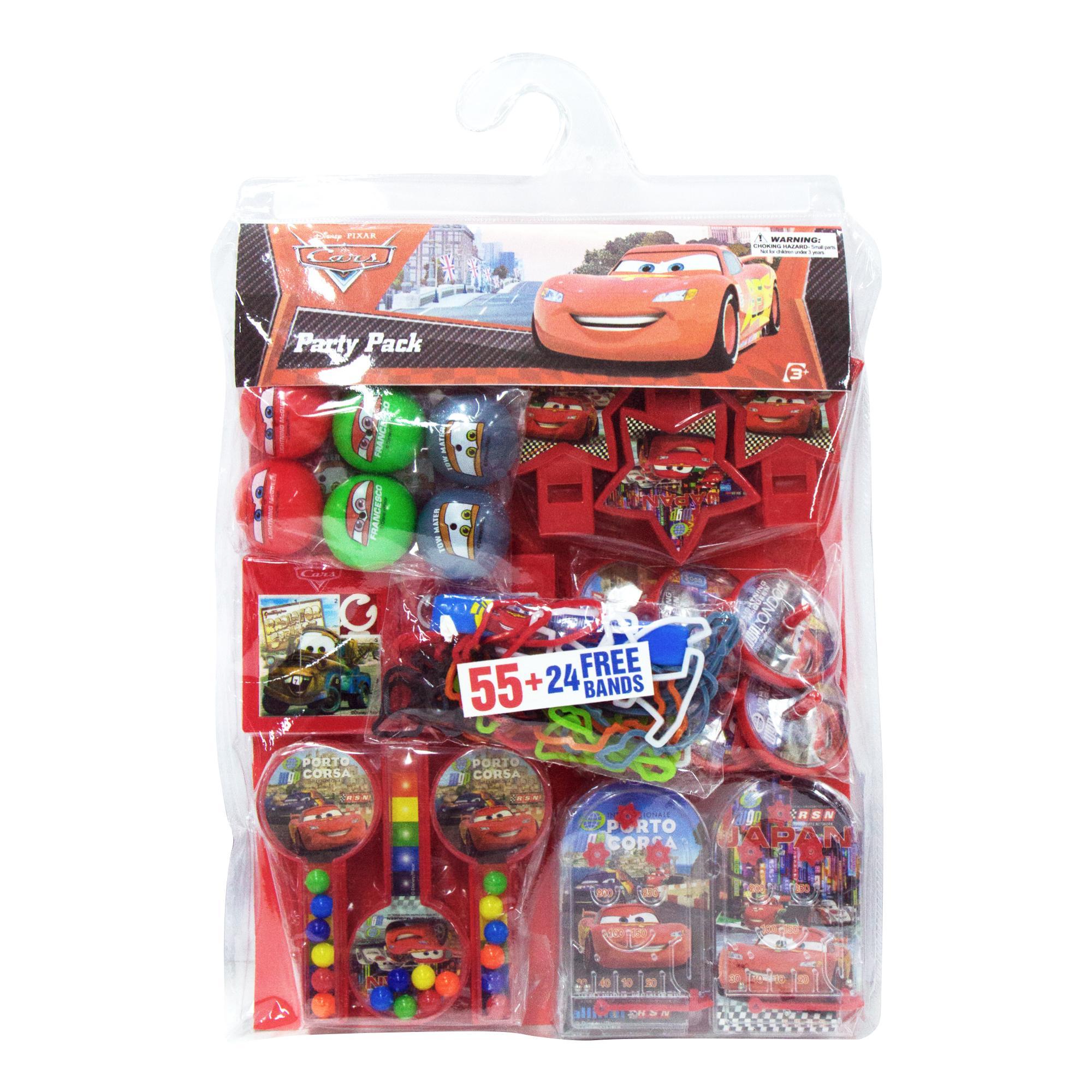 Disney Cars Party Pack - Set E (55 Pcs + 24 Free) By Momoe.
