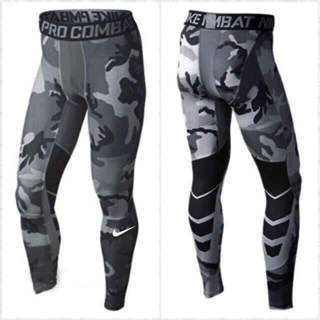 No.8003 (camoflage) Compression Cool Dry Sports Tights Pants Baselayer Running Leggings Yoga Men Women By Cologosport.