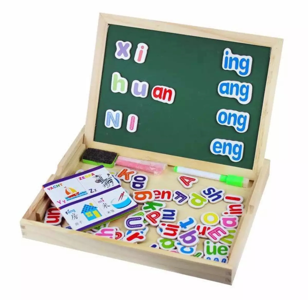 Baba Alphabet Abc Letters Double Sided Magnet Wooden Drawing Board For Baby Early Education Gift Ideas Lazada Ph