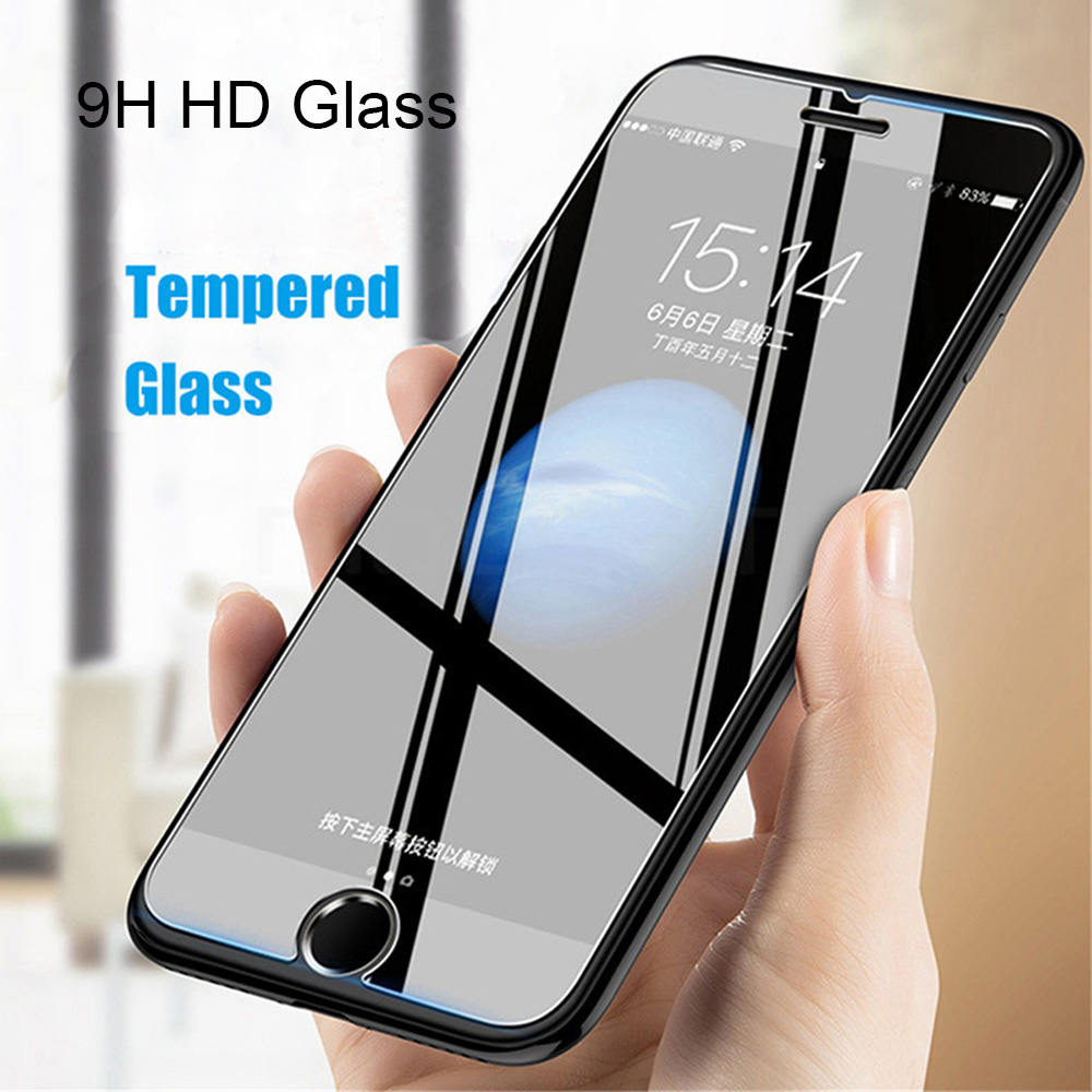 9H Tempered Glass Film For iP-hone Series Half Screen Protector for iP-hone  11 11 Pro Max 6 6s 7 8 Plus X XS Max XR | Lazada PH