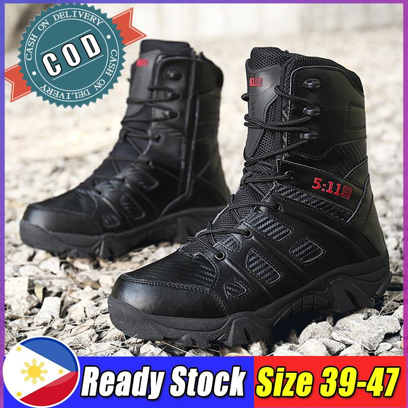 894658586da Rubber Boots For Men Ankle Boots For Men Tactical Boots Hiking Boots  Anti-Slip Boots Fashion Boots Mountaineering Boots Outdoor Boots Hiking  Boots ...