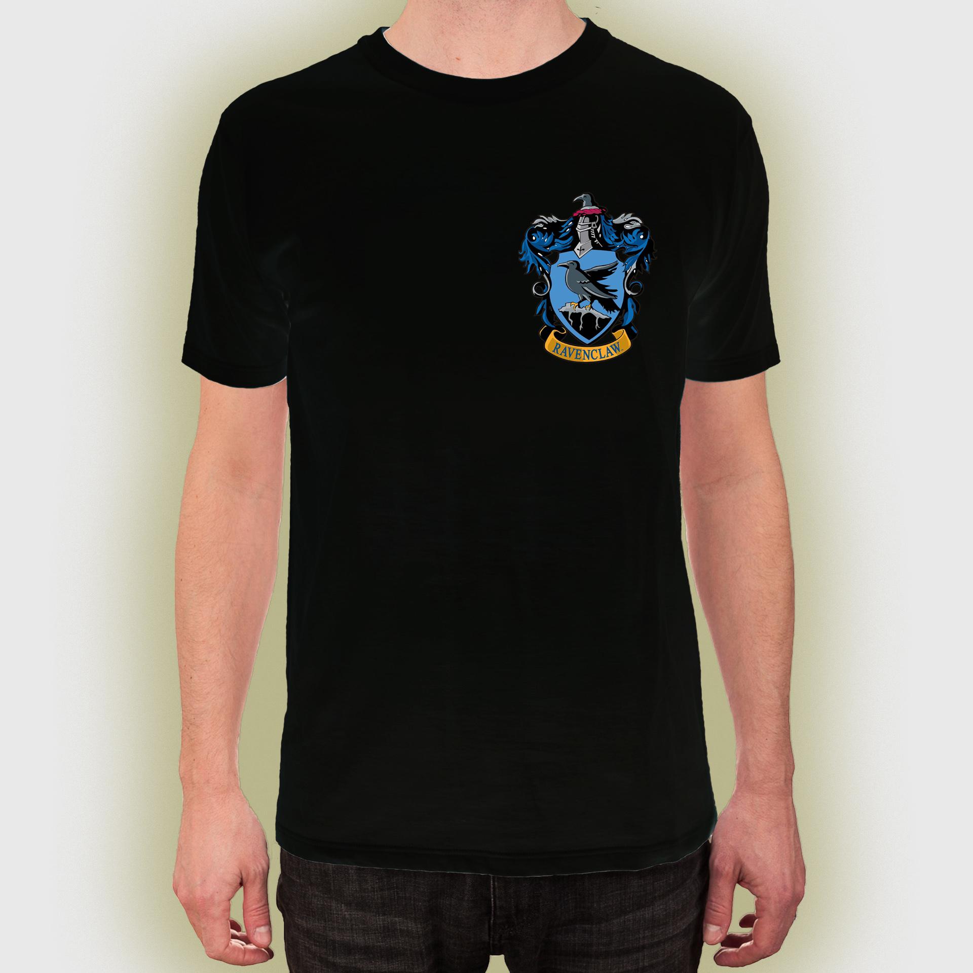 Harry Potter Ravenclaw Crest House Women T shirt Tee Top