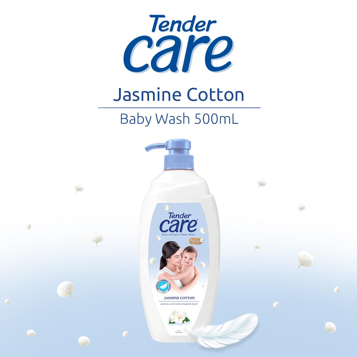 Tender Care Jasmine Cotton Hypo-Allergenic Baby Wash 500ml By Lazada Retail Tender Care.