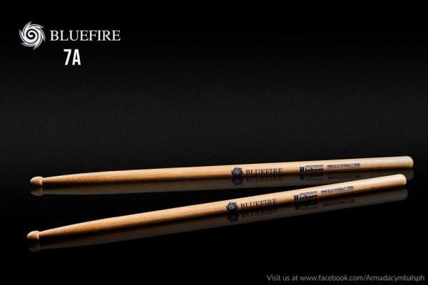 Armada Cymbals Bluefire Hickory Drumstick Natural Malaysia