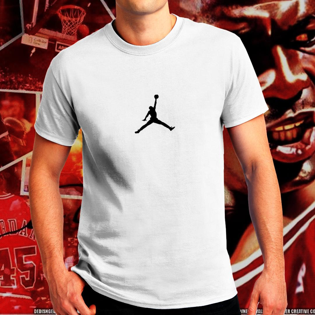 490754e2b434 Michael Jordan 23 Air Flight NBA Sports Basketball Chicago Bulls Team GOAT  MJ 23 Tshirt for