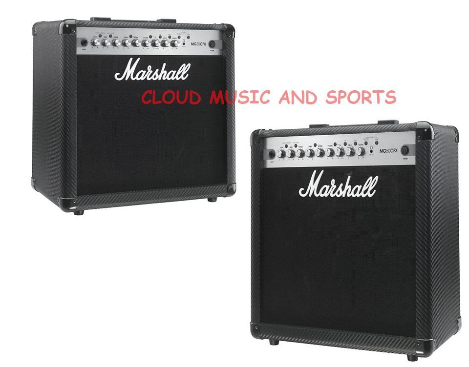 Marshall MG50CFX MG Series 50 Watt Guitar Combo Amp (Black)