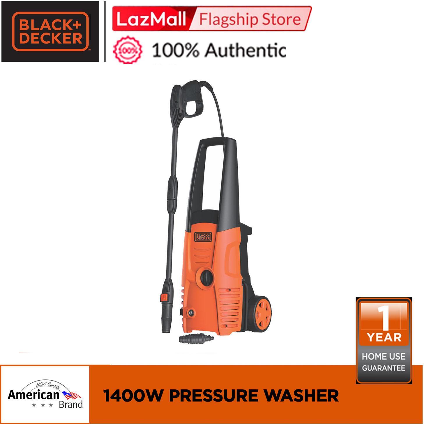 Black Decker Pw1400s B1 1400w Pressure Washer Lazada Ph