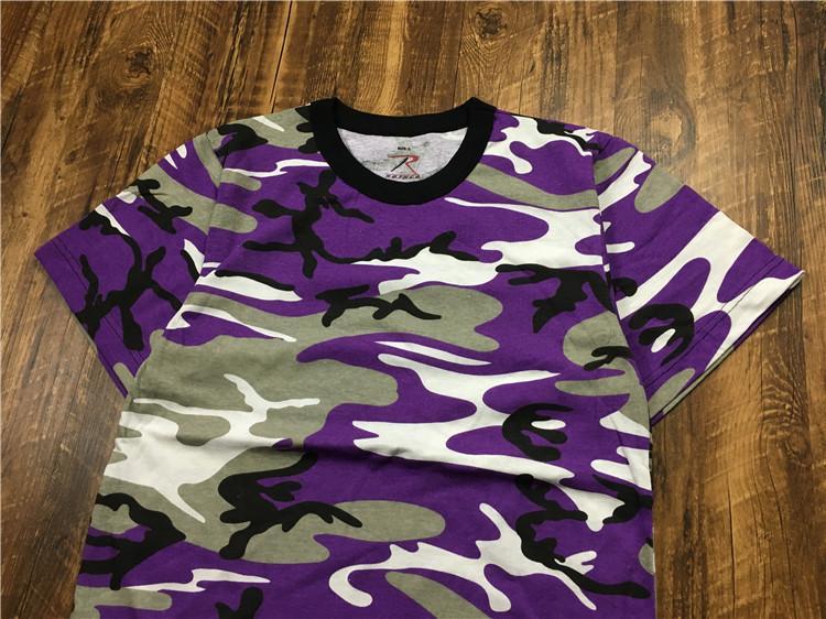 0e8bdb84435  Goods Words  Rothco Color Camo T-Shirts Camouflage Short Sleeve T-shirt