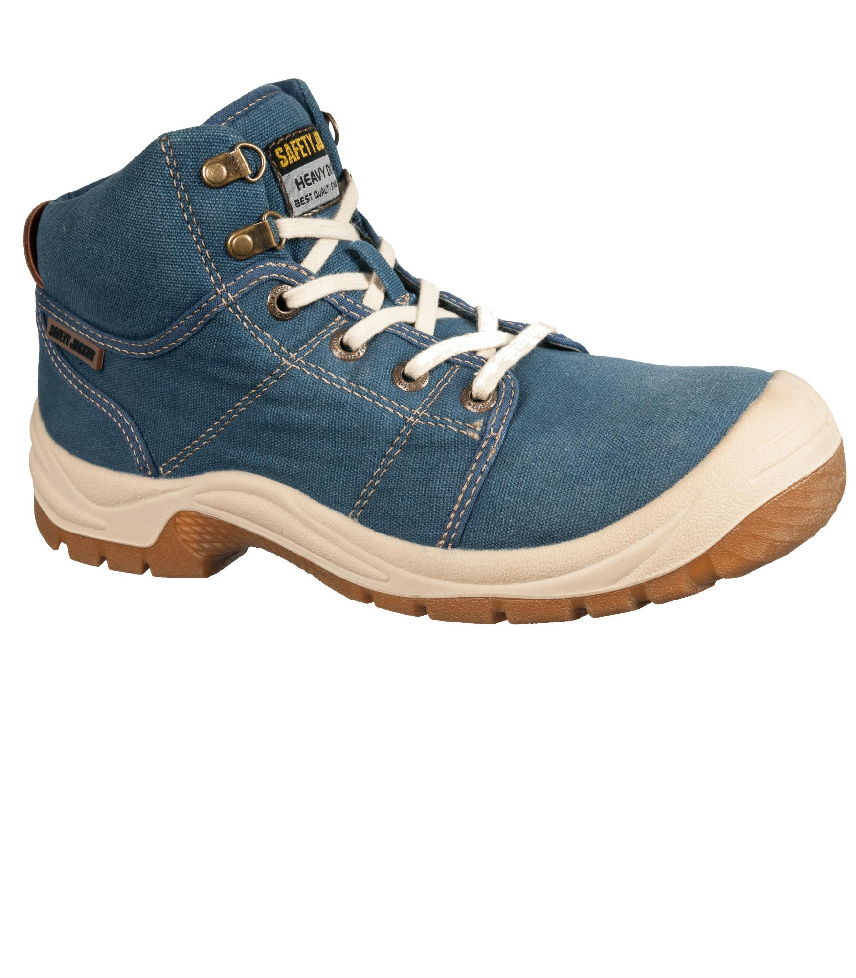 CLEARANCE SALE! Safety Jogger Desert S1P Blue Steel Toe Safety Shoes