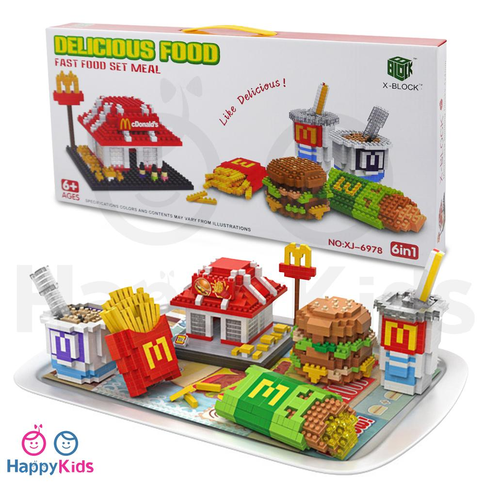 X-Block Delicious Food Fast Food Set Meal