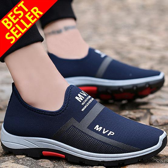 c168d5f3c QINGSHUI New Men s Casual Sneakers Men s Running Shoes Walking Lazy Shoes  Comfortable Driving Sports Shoes Athletic