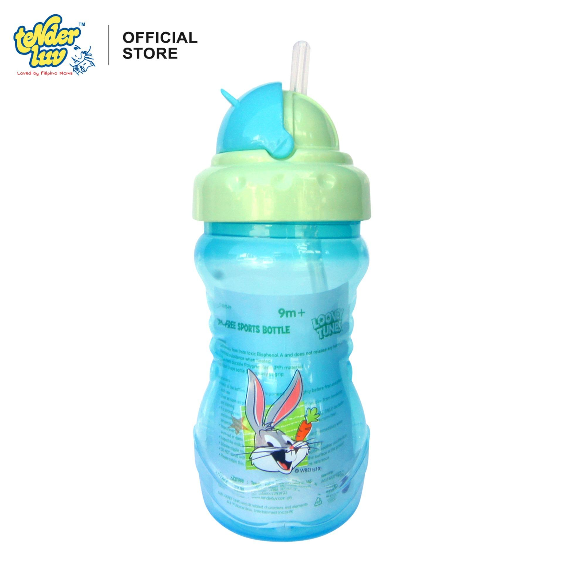 Looney Tunes Bpa-Free Sports Bottle By Tender Luv.