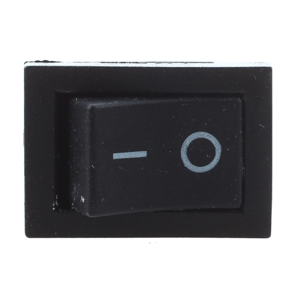 5 Pcs SPST On/Off Momentary Off Rocker Switch AC 250V/6A 125V/10A