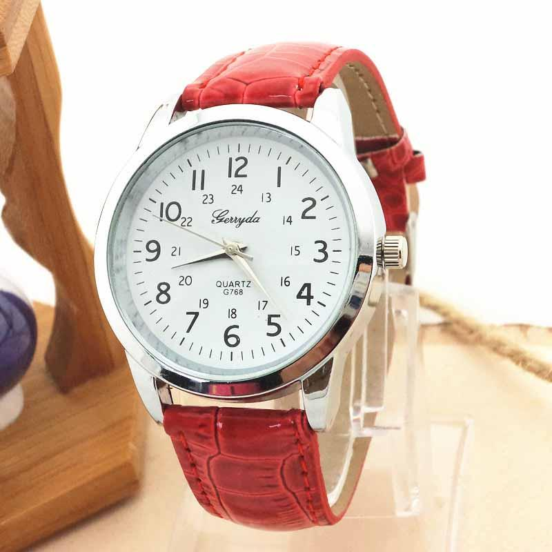 Elegant Analog Luxury Sports Leather Strap Quartz Mens Wrist Watch BK Malaysia