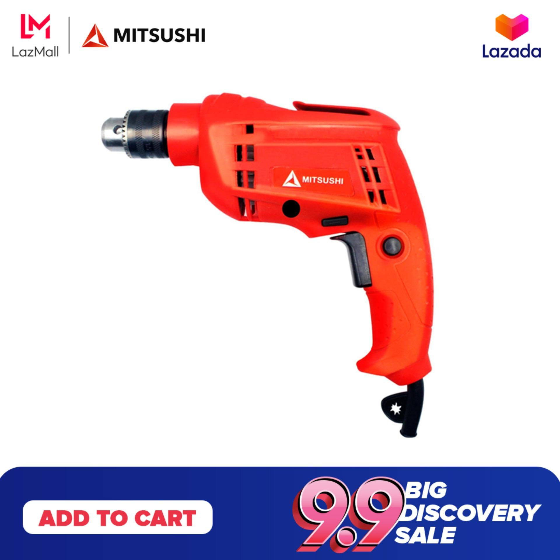Mitsushi MS-10RE 580W 10mm Electric Hand Drill