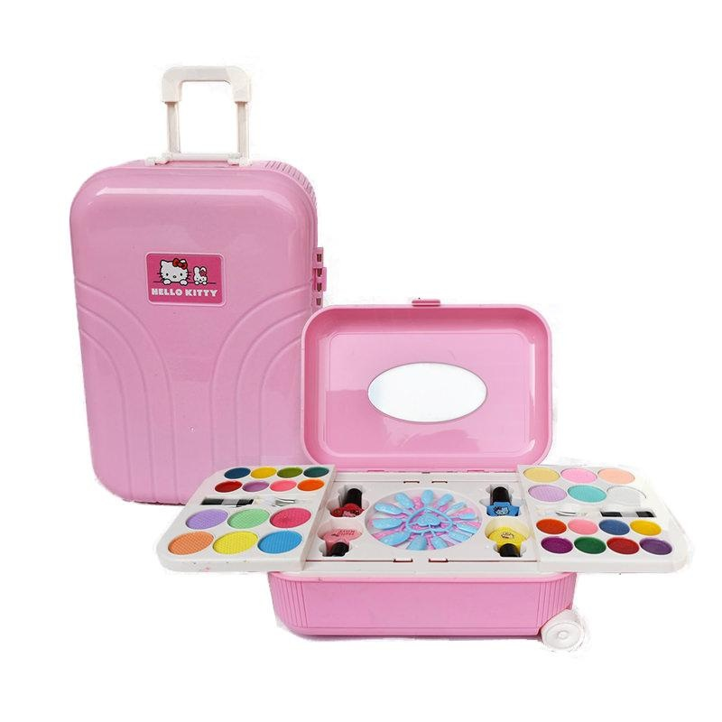 afdd3f132ebb Nail Art Makeup kit In Trolley Case For Kids Gift Ideas