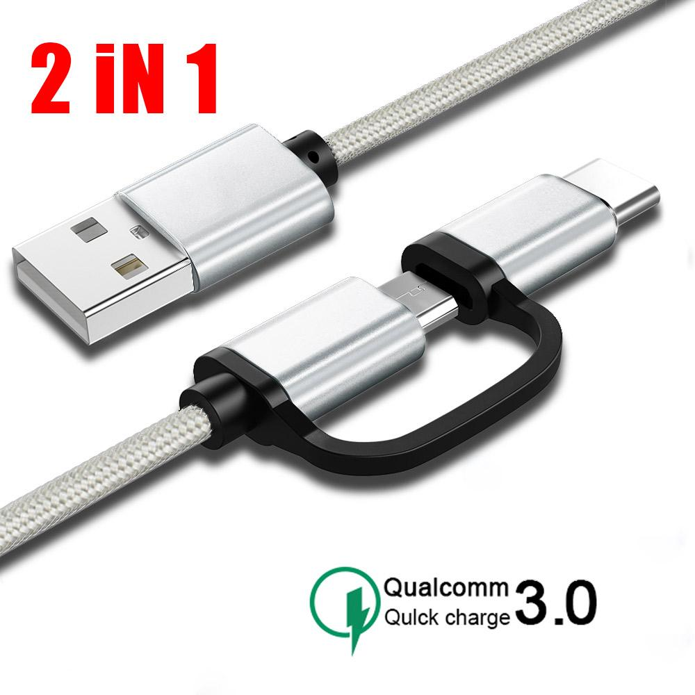 5A USB Braided Micro USB Cable Quick