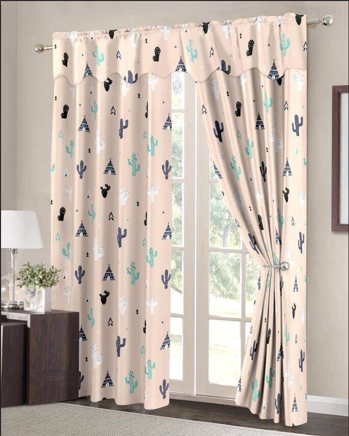 FASHION CURTAIN 1PC P1012 image