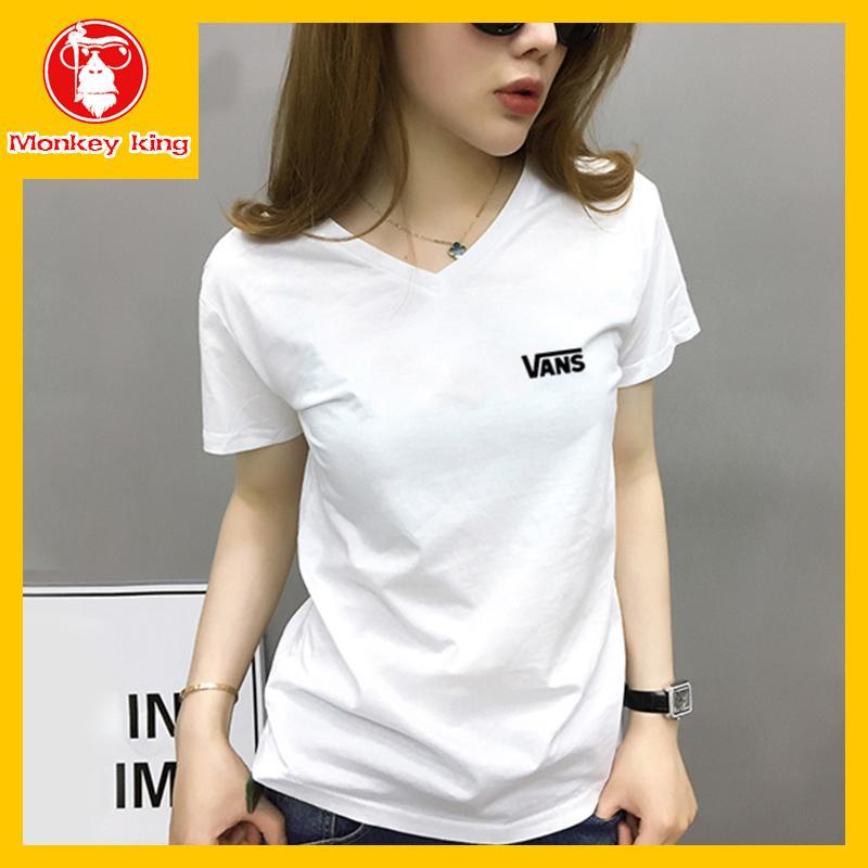 4374182dd4  Monkey King V neck T-shirt for Womens on sale Tees Tops Unisex