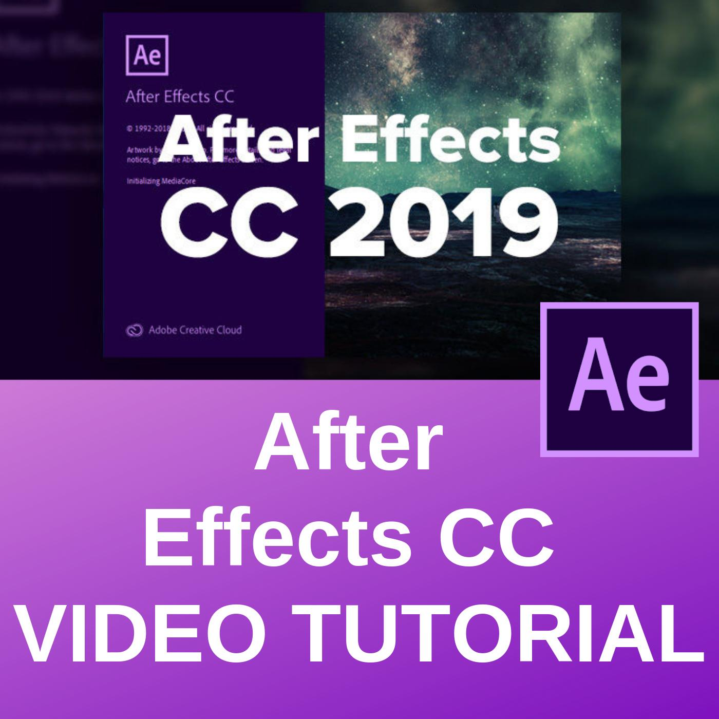 Learn Adobe After Effects Cc Professional Training Videos By Tixunion.