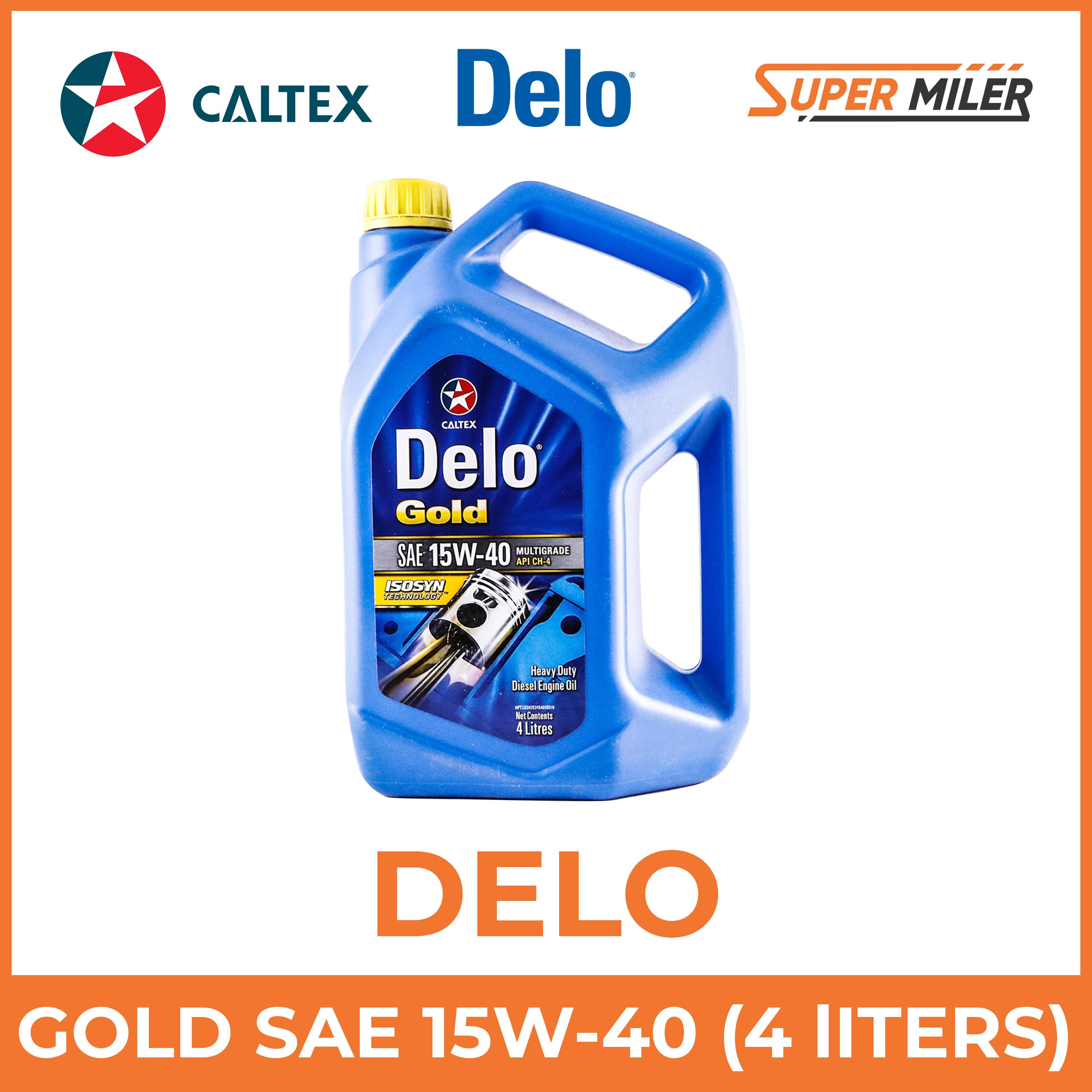Delo Gold MG SAE 15W-40 4 liters