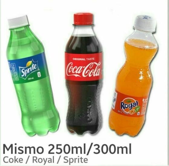 Mismo Coke Royal Sprite 250ml / 300ml