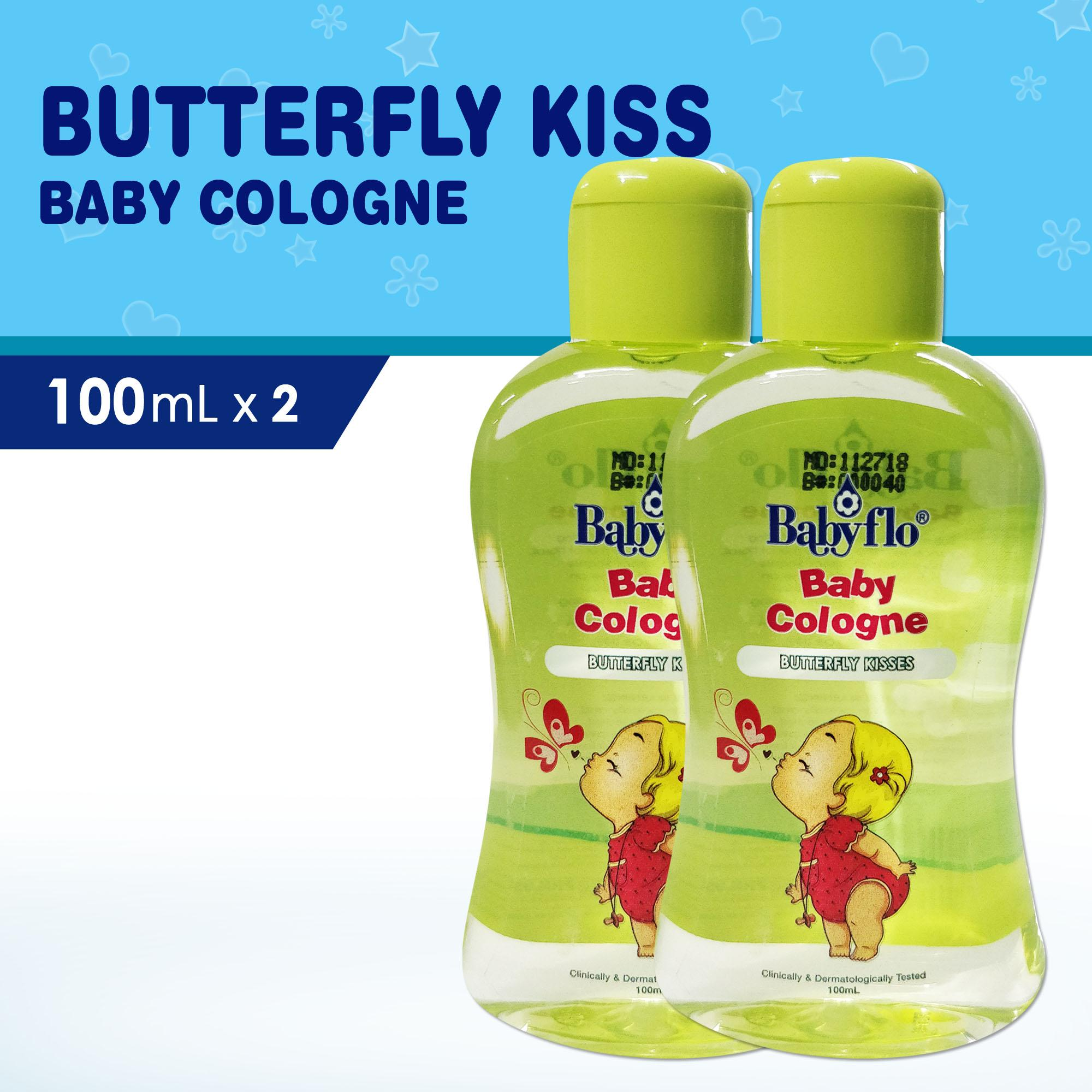 Babyflo Baby Cologne Butterfly Kisses 100ml X2 By Philusa Corporation.