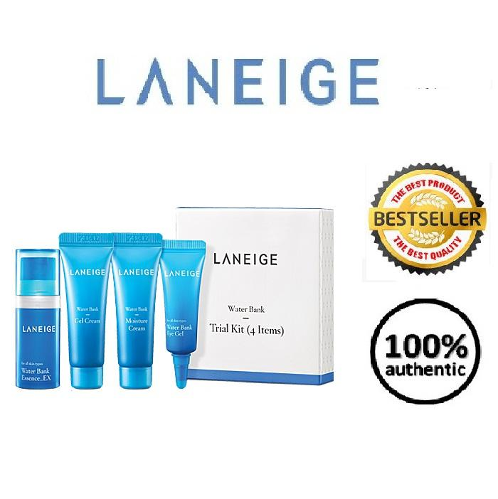 Product details of LANEIGE Water Bank Trial Kit (4items) Korean Cosmetics