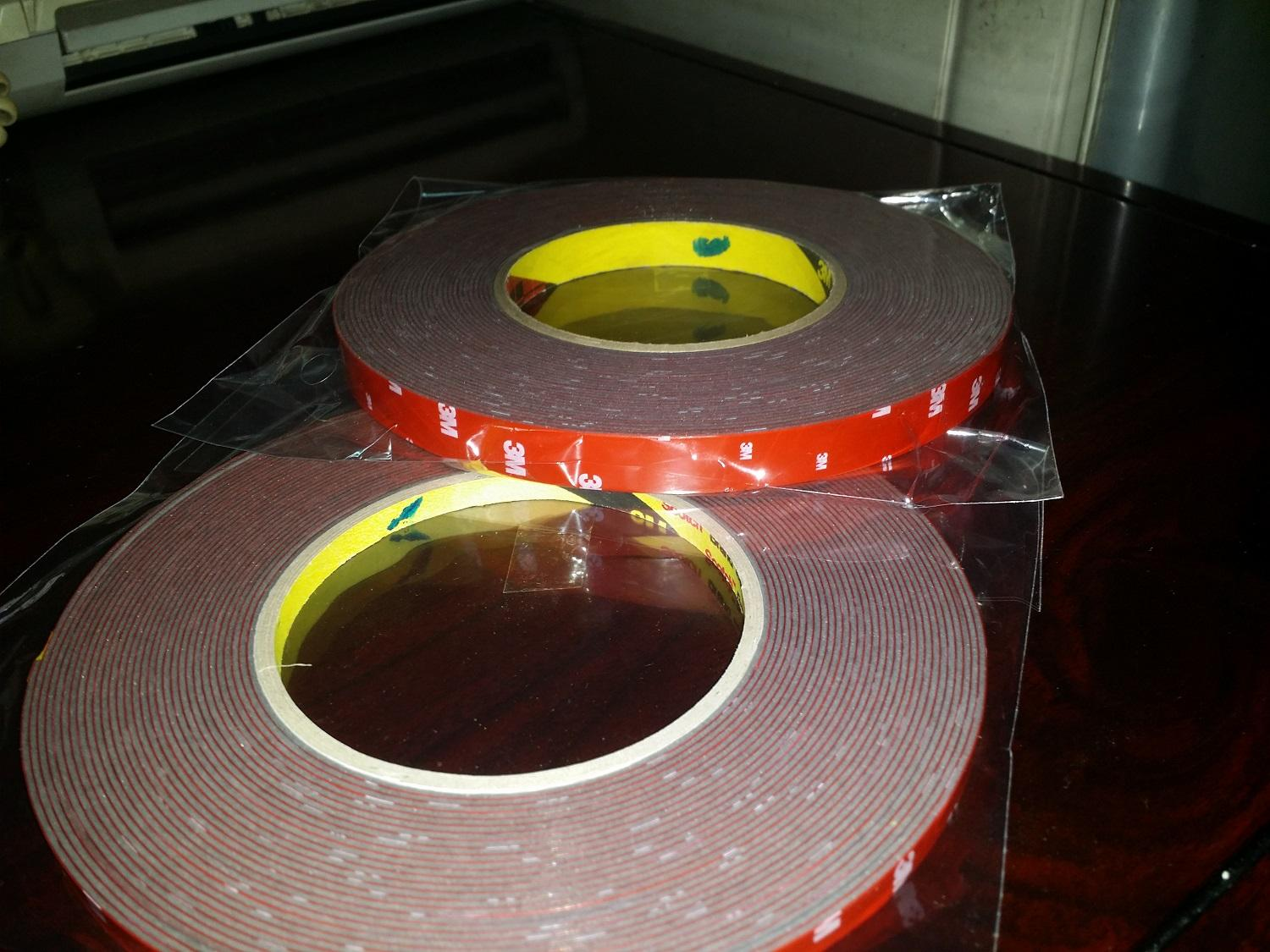 3m Double Sided Tape High Temperature Resistant 11 Meters By Grant Accessories.