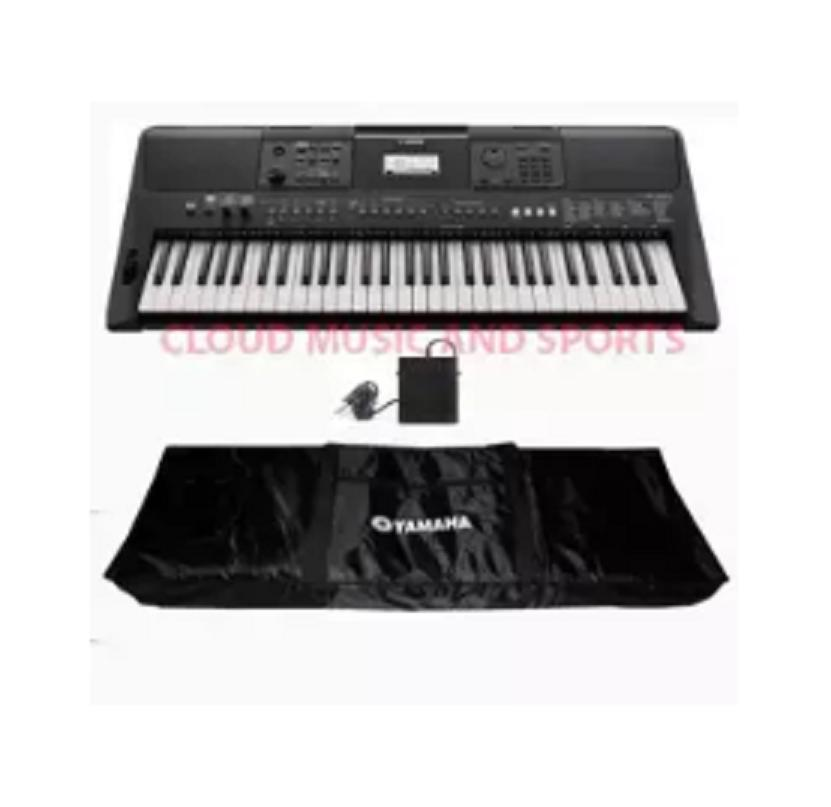 Yamaha PSRE463 61-key high-level Portable Keyboard With Yamaha Keyboard Bag  ang Yamaha FC5 Sustain Pedal