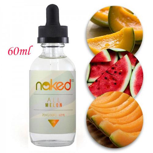 Premium SMOK 3MG E-Cigarette/ Vape Juice C64 Naked All Melon 60ml